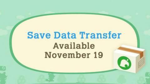 Animal Crossing Save Data Transfer