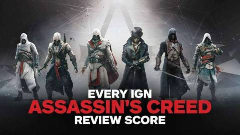 How have the Assassin's Creed games fared with our reviewers over the years? Click through the slideshow to see every Assassin's Creed game and its review score.