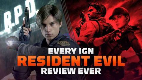 We've rounded up every Resident Evil game review ever published on IGN, including every entry in the main series and all those different remakes.