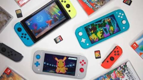 Switch, Lite & Games