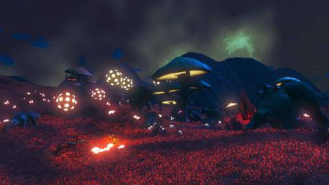The Electric Diplo Carnival, one half of No Man's Sky dual rave planets.