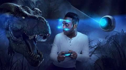 Key art for the PlayStation VR headset