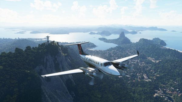 Flight Simulator gorgeous graphics
