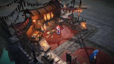A shop in Diablo Immortal
