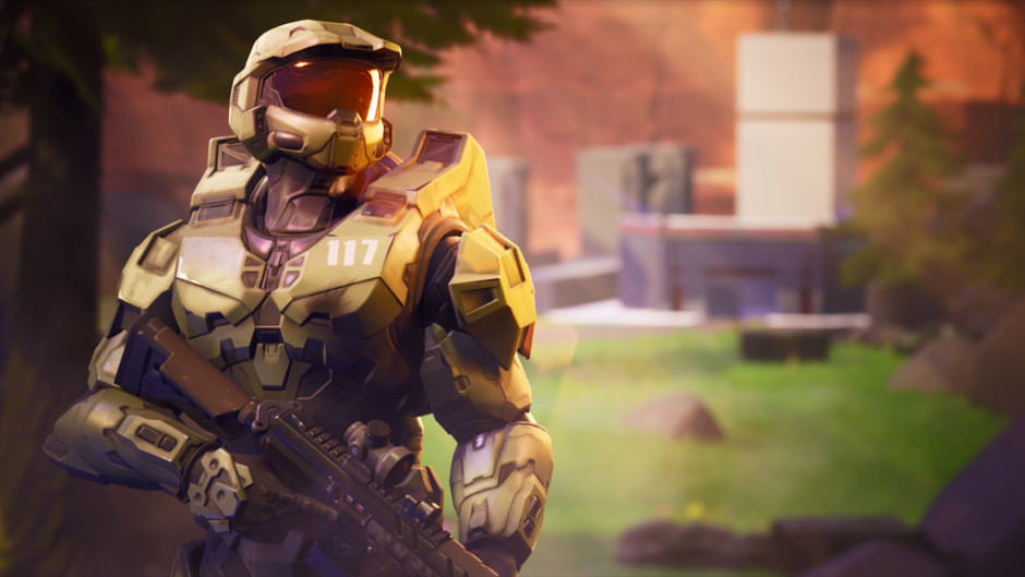 Master Chief in Fortnite Chapter 2