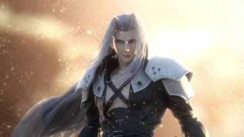 artwork of Sephiroth in Super Smash Bros. Ultimate
