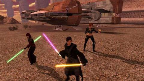 Star Wars: Knights of the Old Republic 2 The Sith Lords on mobile