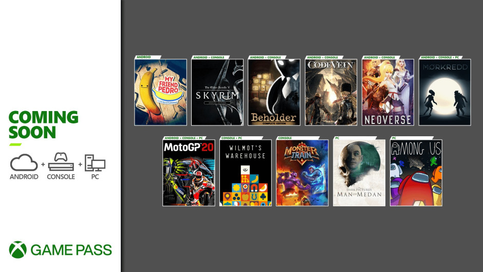 Xbox Game Pass - December 11, 2020