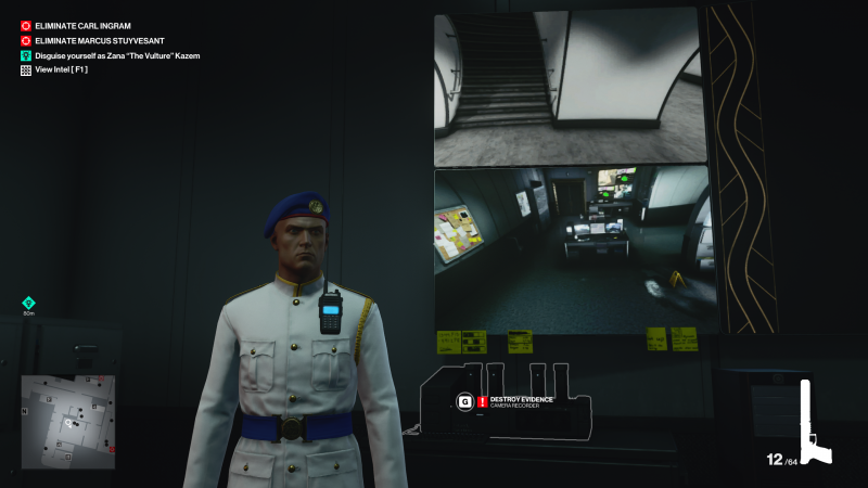 hitman 3 surveillance footage