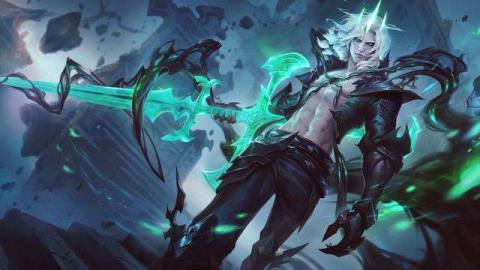 The splash art for Viego, The Ruined King from League of Legends