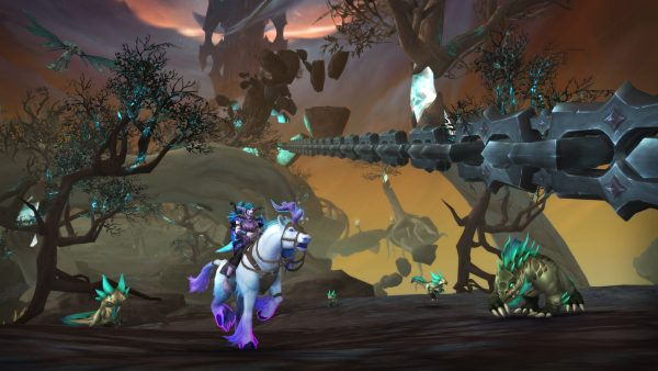 WoW Shadowlands Chains of Domination screenshot