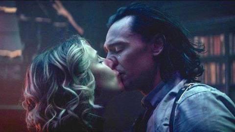Loki and Sylvie kiss in the Loki season 1 finale