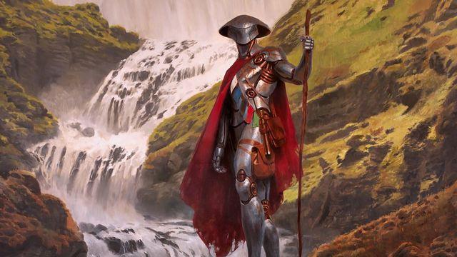 Artwork of Golos, Tireless Pilgrim from Magic: The Gathering