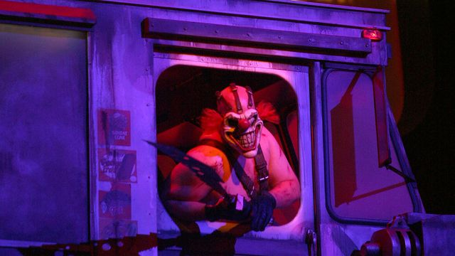 Sony presents Twisted Metal at its 2010 E3 Press Conference with a Sweet Tooth actor