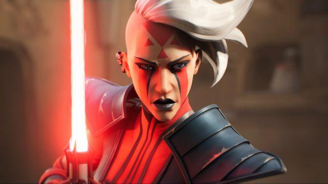 Rieve, a Dark Side warrior, from Star Wars: Hunters