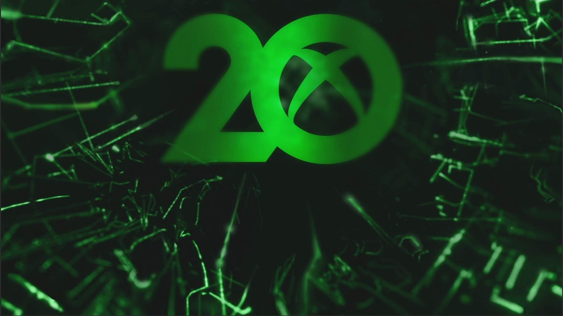 20th Anniversary dynamic background