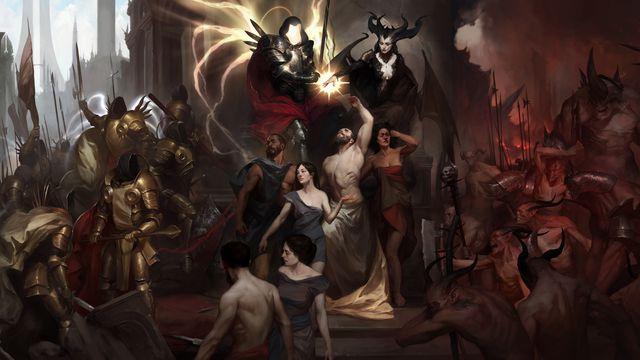 Artwork from Diablo 4