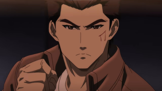 A character from the Shenmue anime